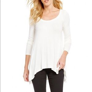 NWT Free People January Ribbed Scoop Neck Tee